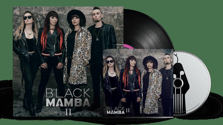 Image of Silver Bundle: Black Mamba II LP + CD
