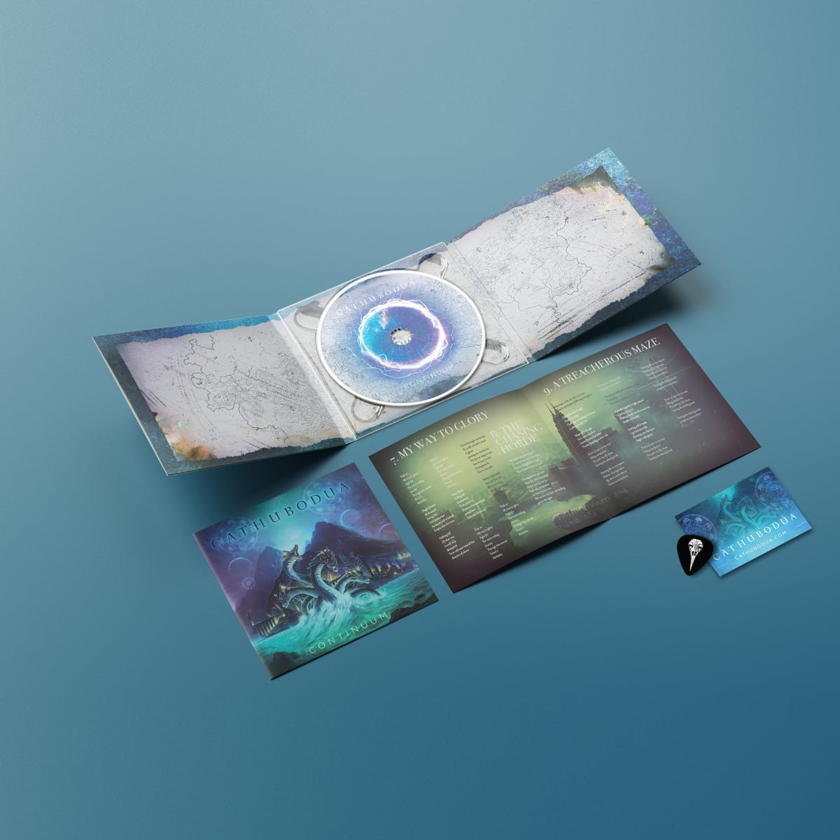 Image of PRE ORDER: Continuum CD Fan Package