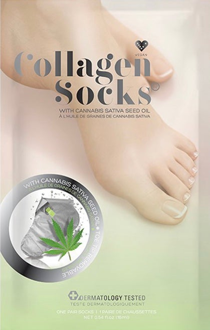 Image of CBD Infused Collagen Socks