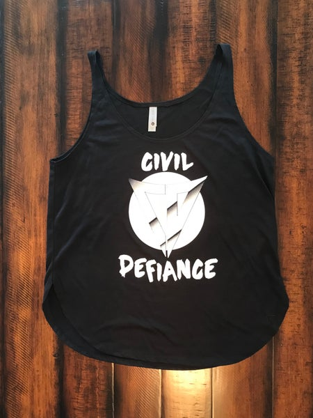 Image of CIVIL DEFIANCE | Ladies Festival Tank.