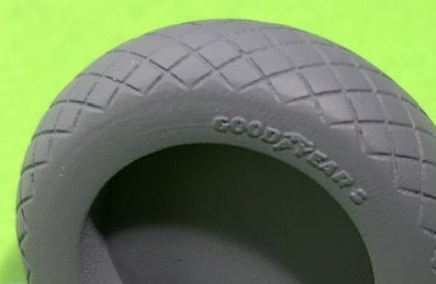 Image of Airfix Hellcat tyres (CROSS HATCH TYPE)