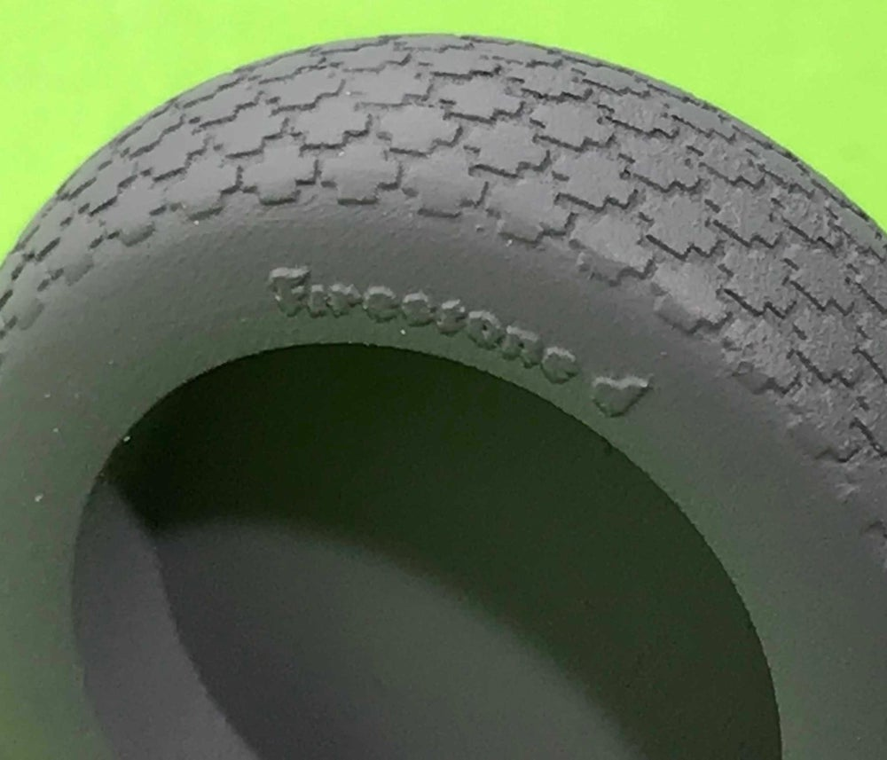 Image of Airfix Hellcat Tyres (CRUCIFORM BLOCK PATTERN)