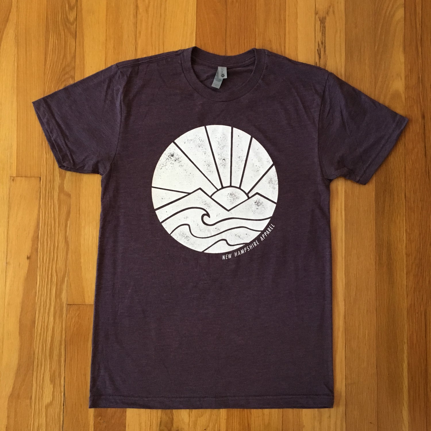 Image of Unisex sunrise tee