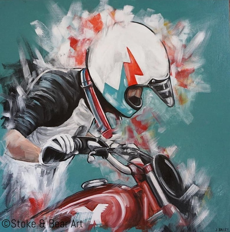 Image of Original Painting - Malle Rider