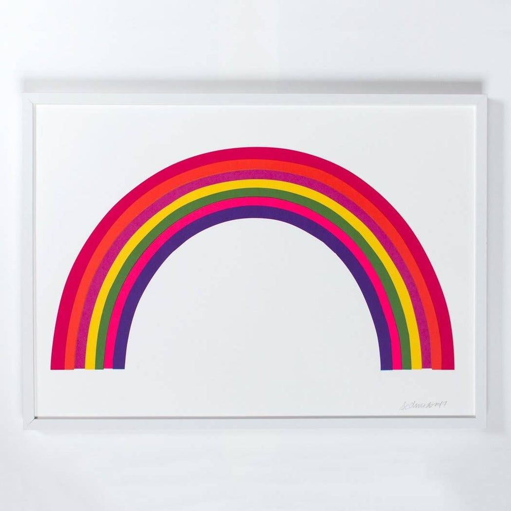 Image of Neon Rainbow Print