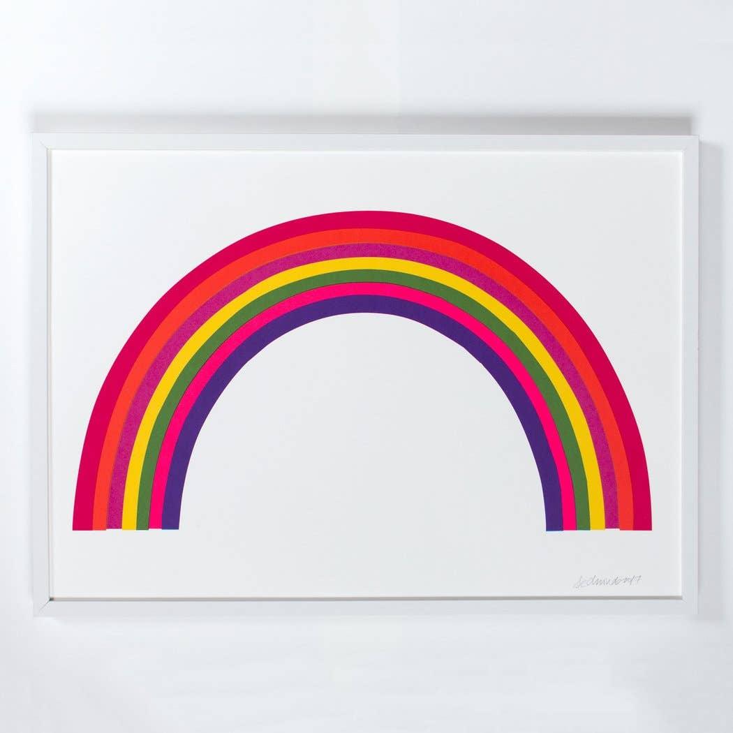 Image of Banquet Neon Rainbow Print