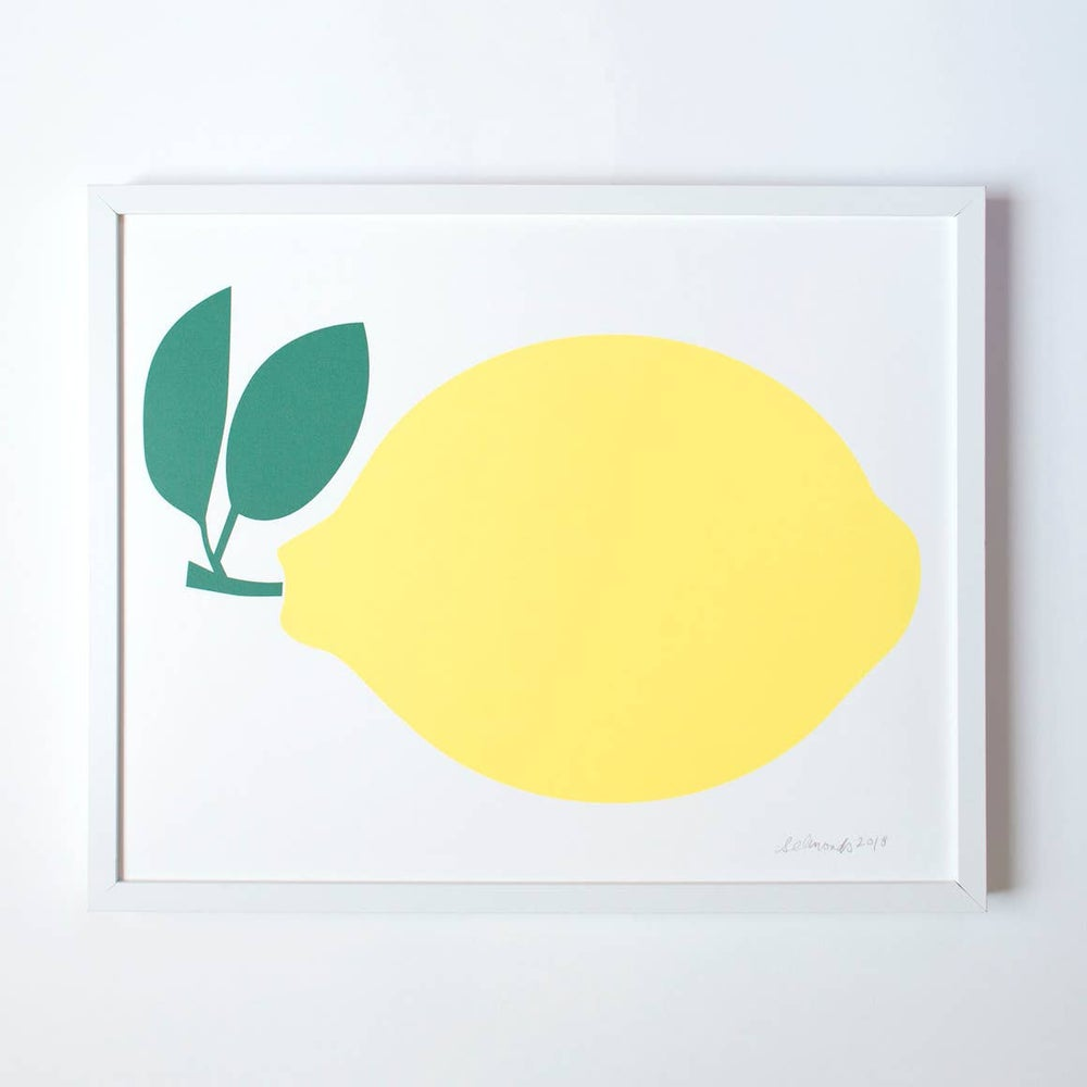 Image of Banquet Lemon Print