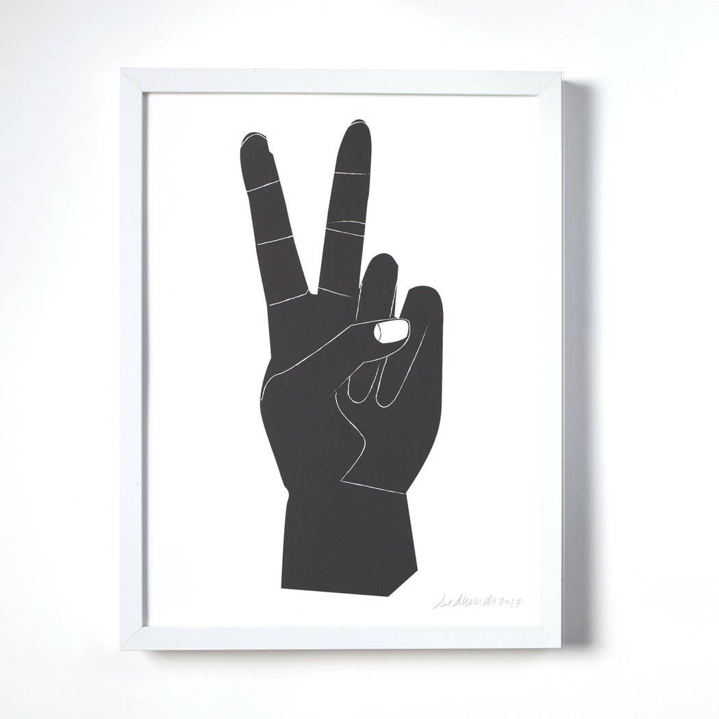 Image of Peace Sign Print