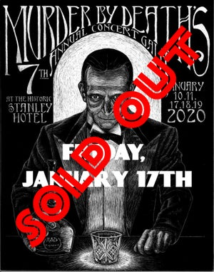 Image of Will call ticket for Friday January 17th, 2020 show at The Stanley Hotel