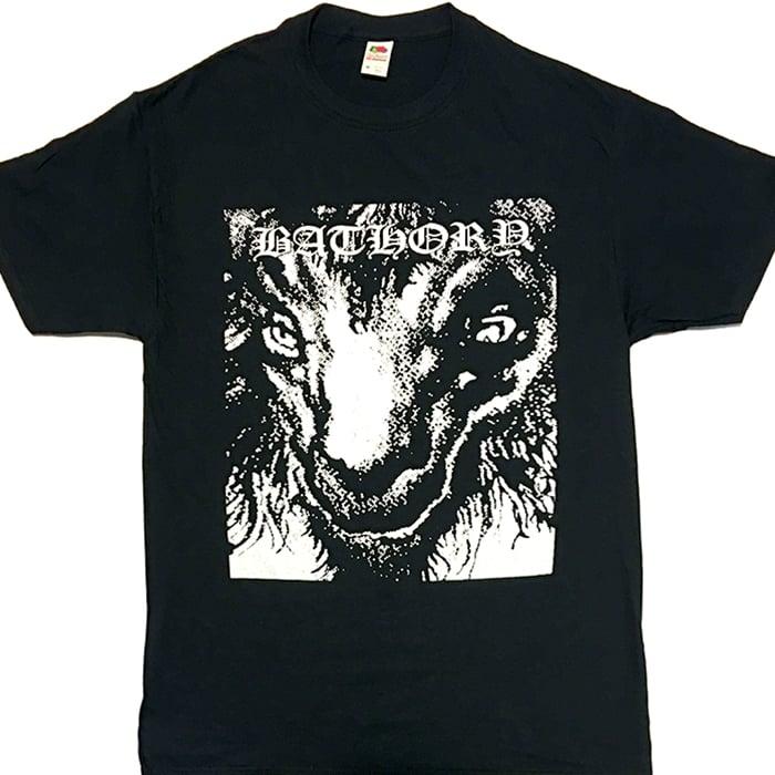 """Image of Bathory """"Goat """" T shirt"""