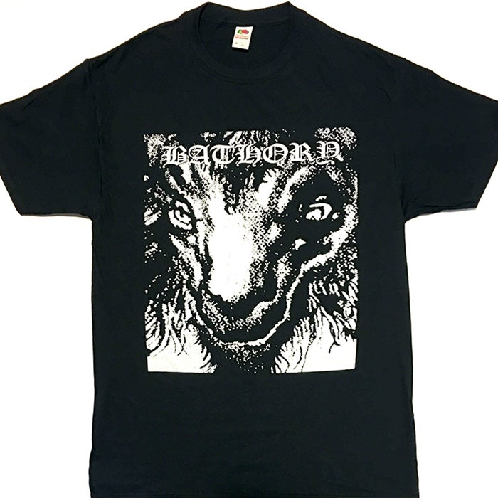 "Image of Bathory ""Goat "" T shirt"