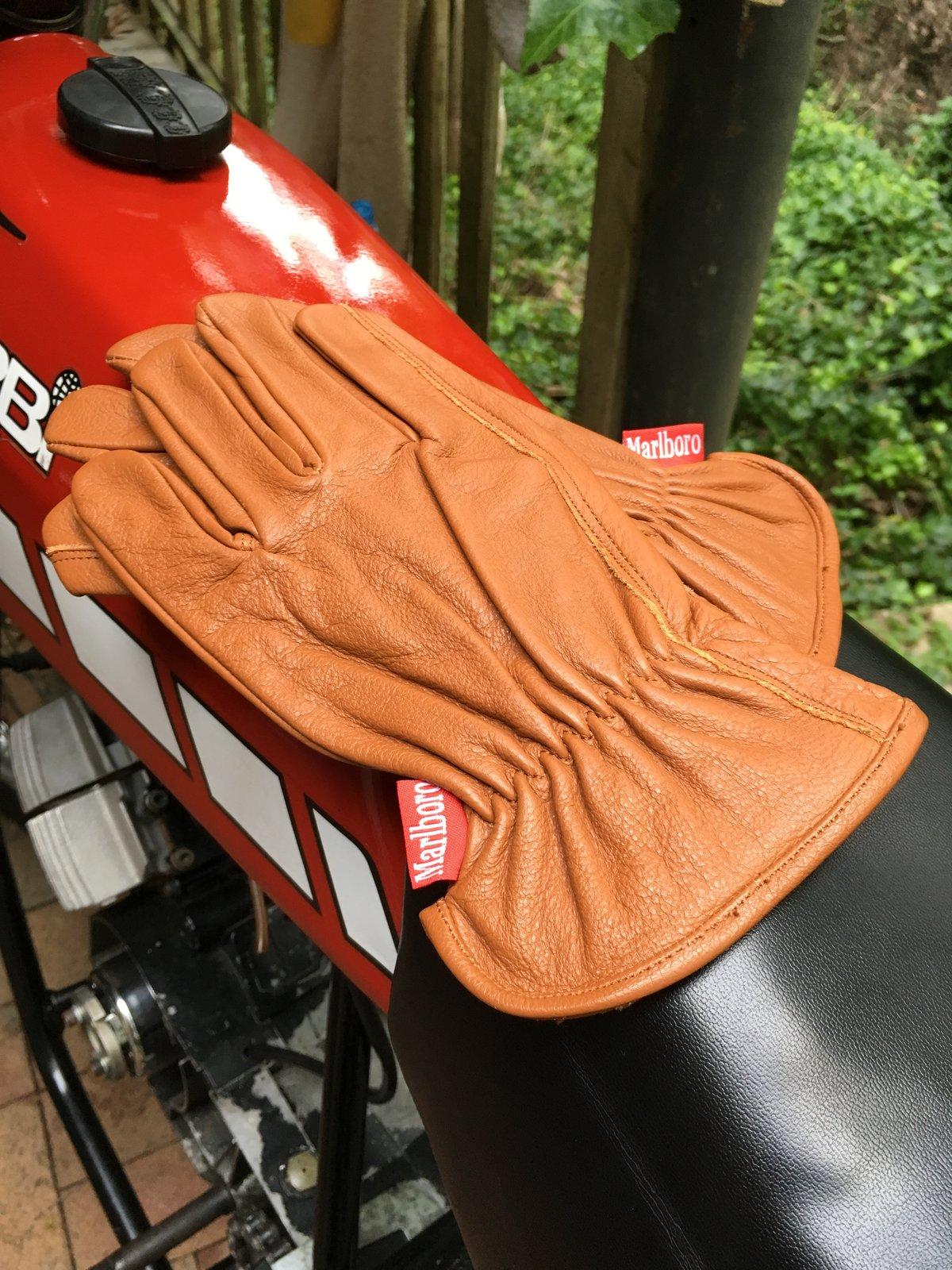 Image of Marlboro Genuine Leather Gloves