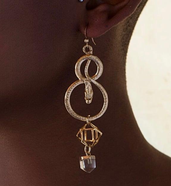 Image of Kundalini rising earring