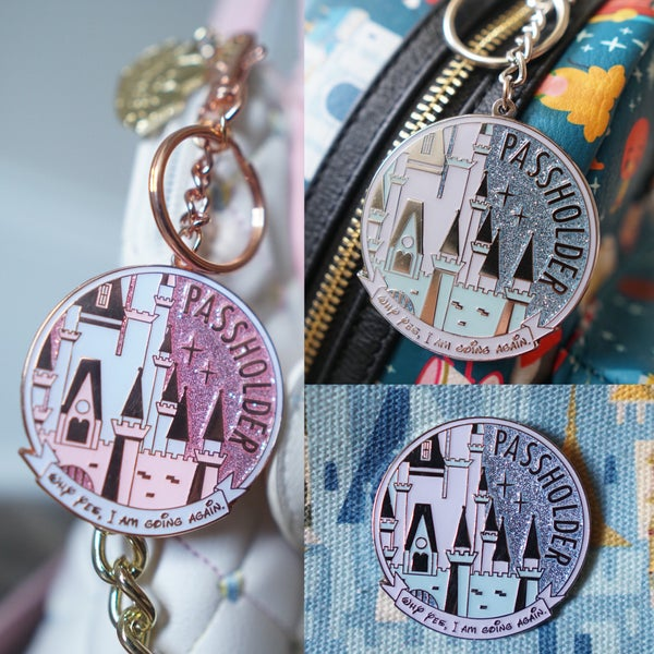 Image of East Coast AP Castle Keychain or Pin