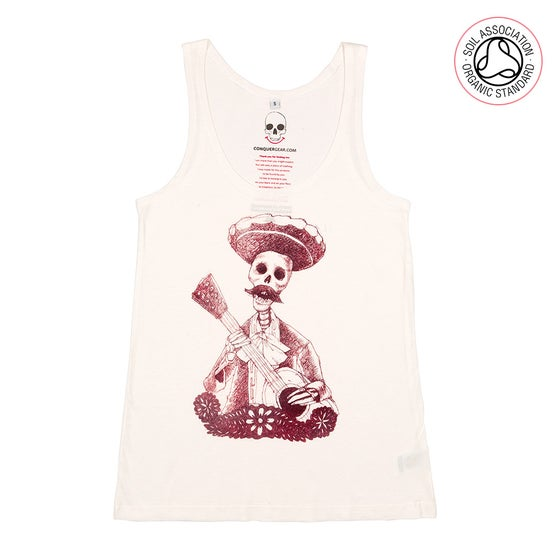 Image of Day of the Dead Girls Natural Cotton Tank