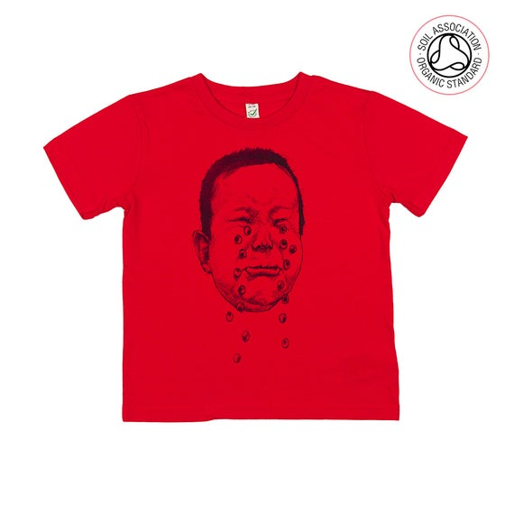 Image of Cry Hard Red Kids-T (Organic)