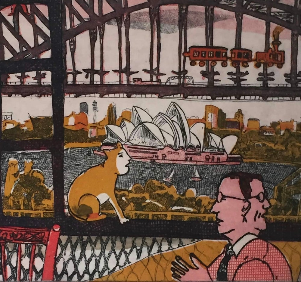 Image of Sydney after Chagall 2
