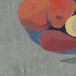 Image of 1959, Still Life Painting 'Fruit and Vegetables,' Ejva Damm