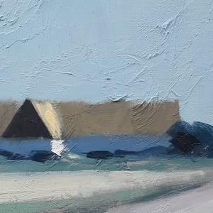 Image of Landscape Painting, 'Road to Skånegård,' Bengt Hillgrund