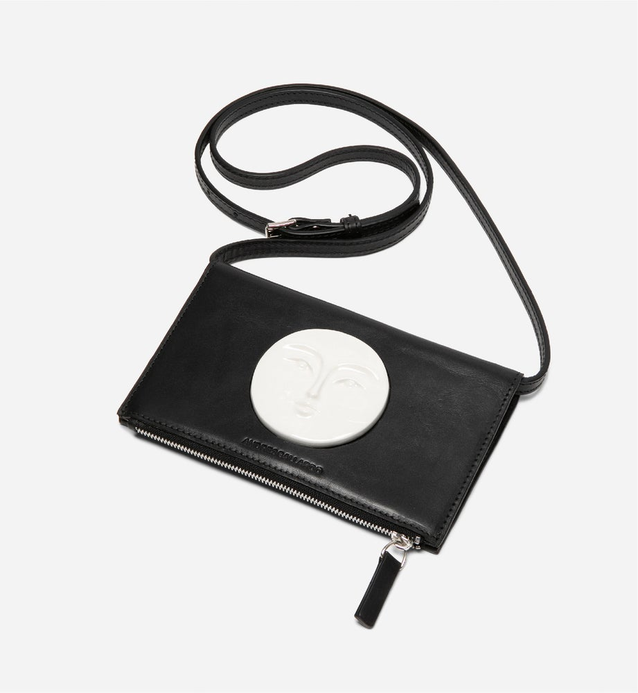 Image of  Moon Wallet Bag • Black
