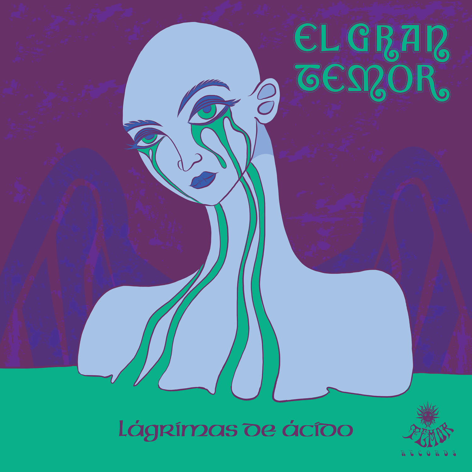 "Image of El Gran Temor ""Lágrimas de Ácido"" CD Edition (Ecopack/Mini-Vinyl Edition)"