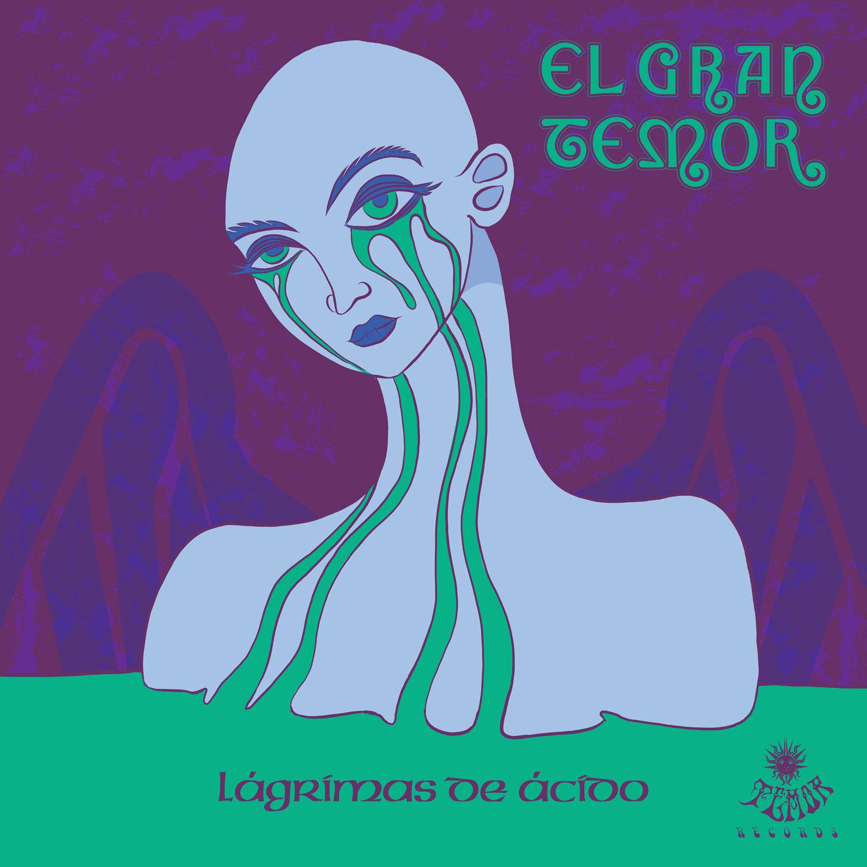 """Image of El Gran Temor """"Lágrimas de Ácido"""" CD Edition (Ecopack/Mini-Vinyl Edition)"""