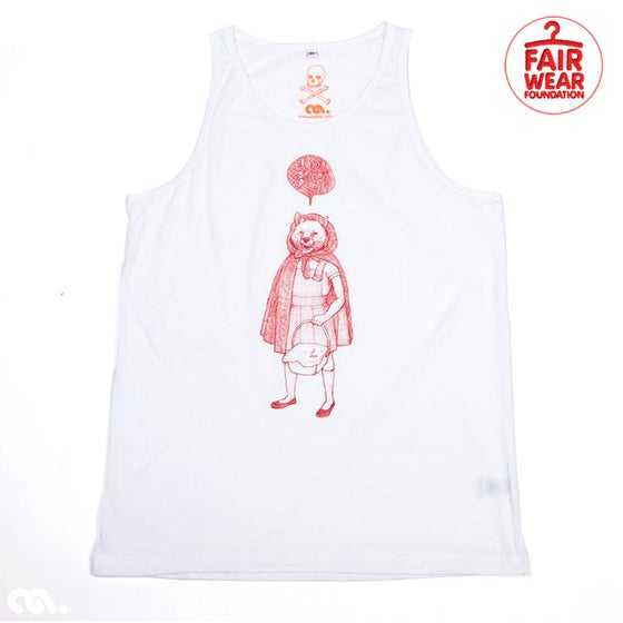 Image of RedHood Boys White Tank