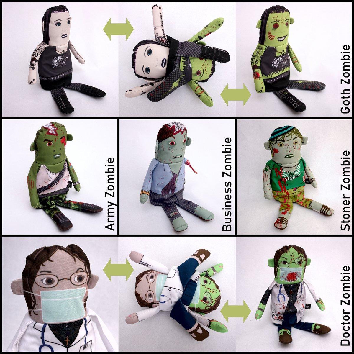 Image of Flipping Zombie Dolls