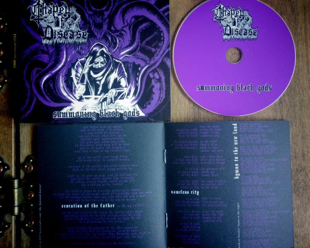 Image of Summoning Black Gods Digipack CD
