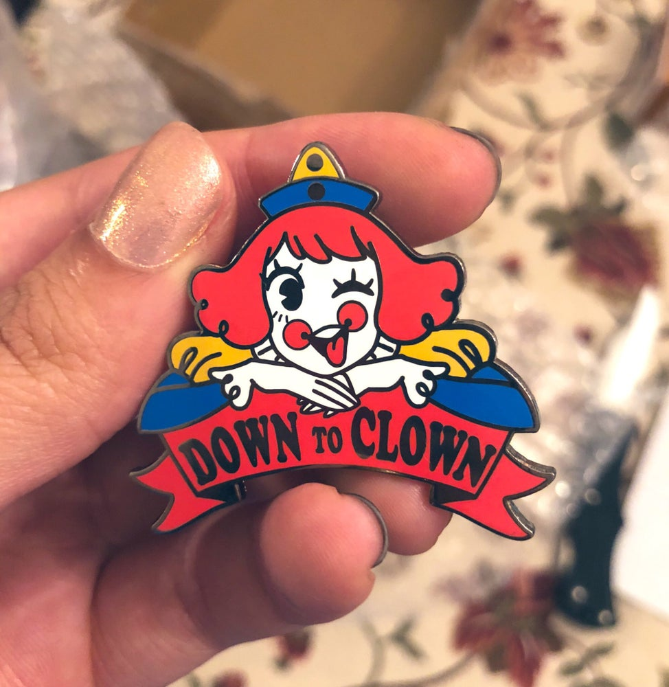 Image of Down to Clown Pin
