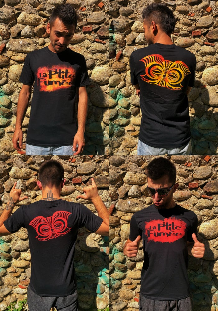 Image of T-shirt - OLD SCHOOL EDITION - Fire/Red