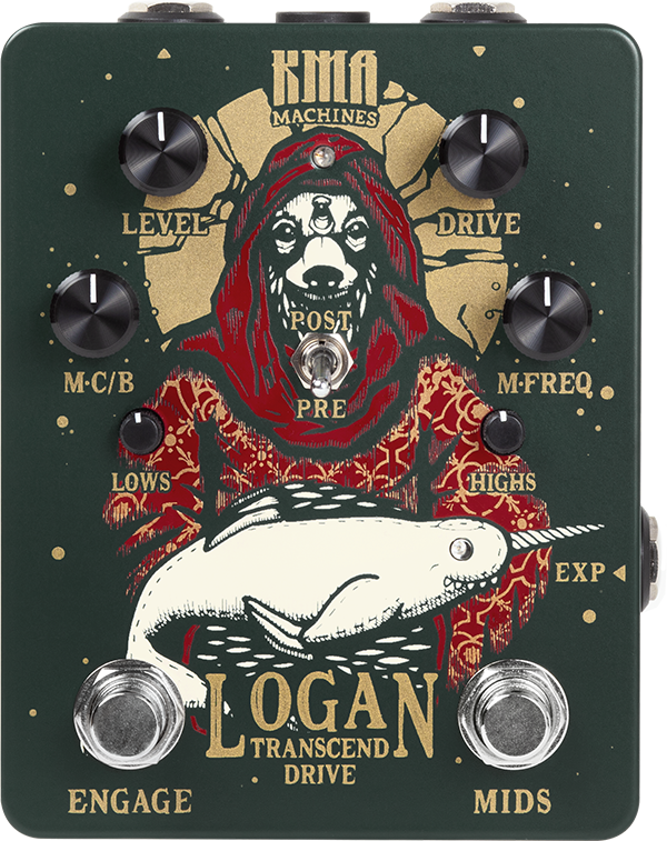 Image of Logan - Transcend Drive