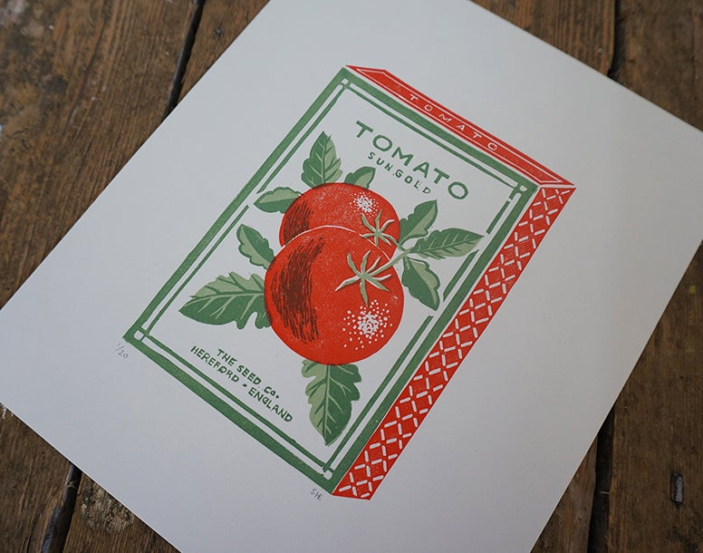 Image of August Print - Tomato