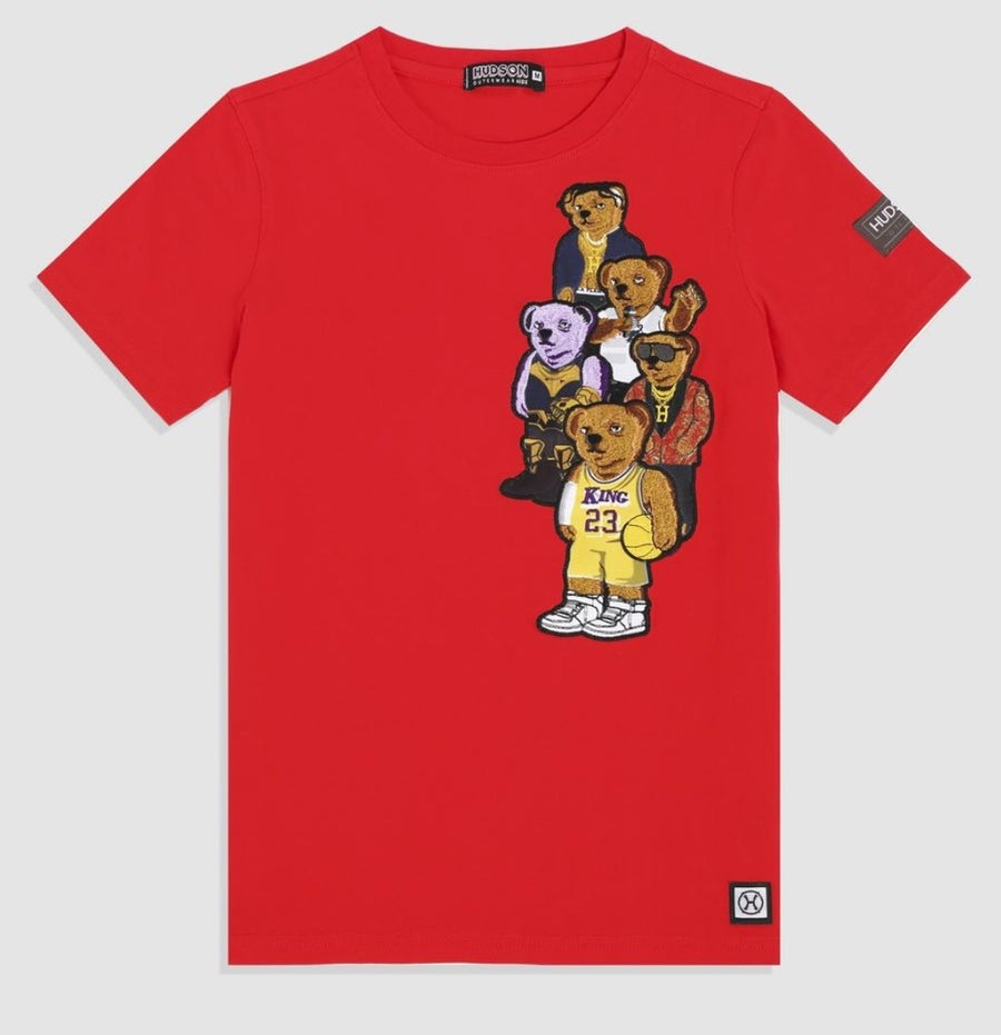 Image of  KIDS Bear Gang Shirt (Red)