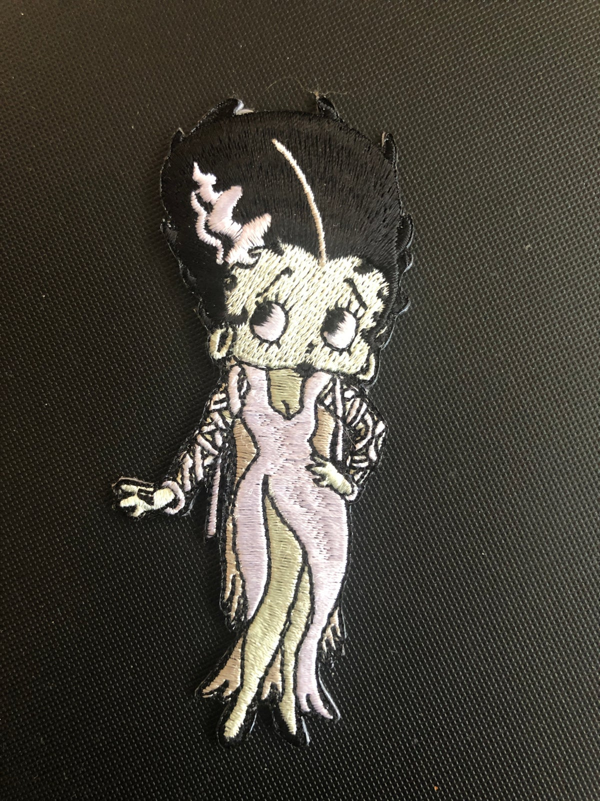 Image of Betty Boop - Bride of Frankenstein Iron On Patch