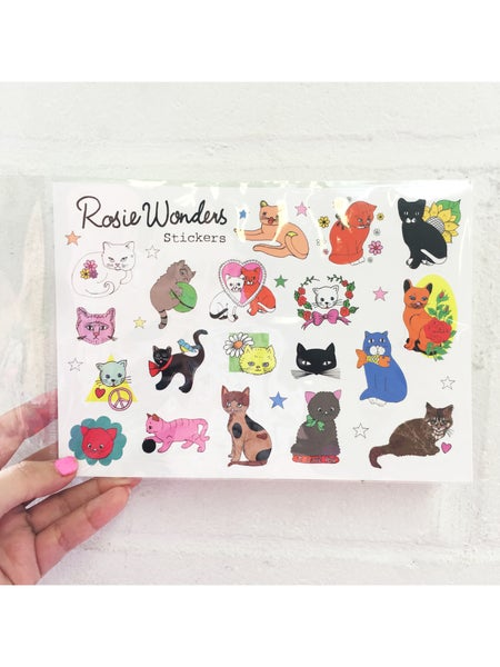 Image of **NEW** Cat Stickers