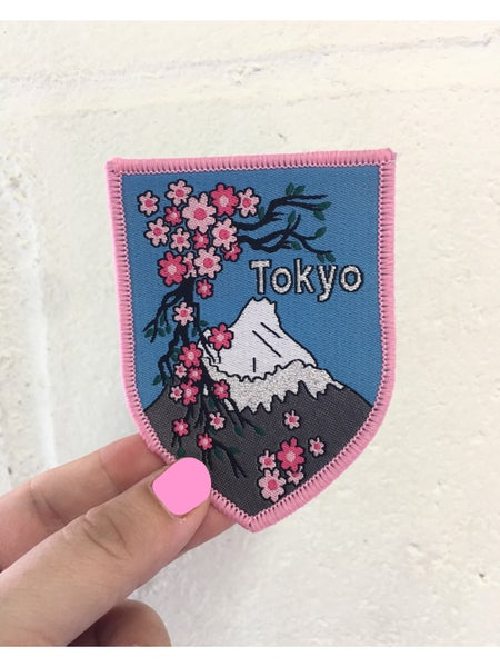 Image of Tokyo Iron on Travel Patch