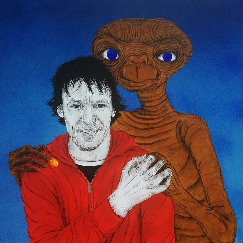 Image of elliott and et print