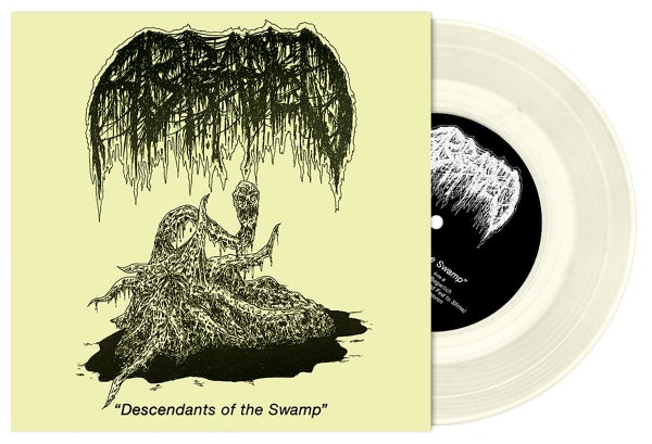 Image of ABRADED - Descendants of the Swamp 7""