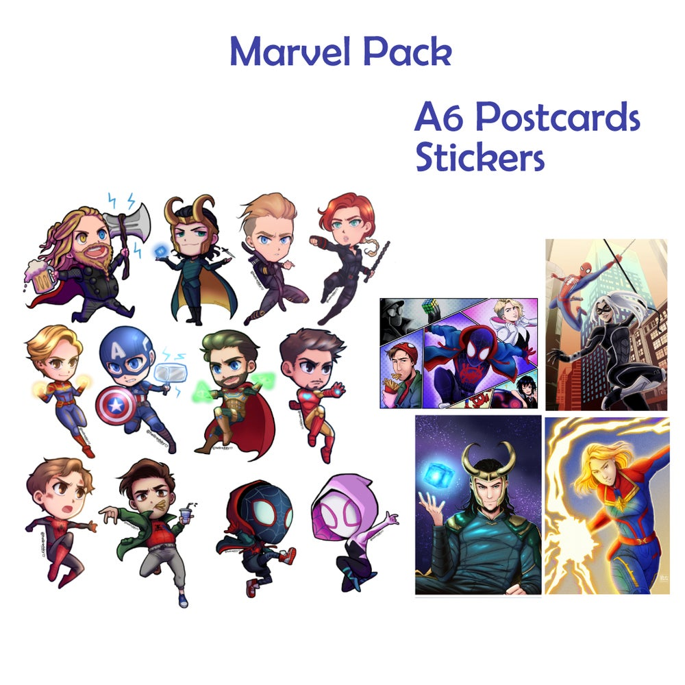 Image of Marvel Pack