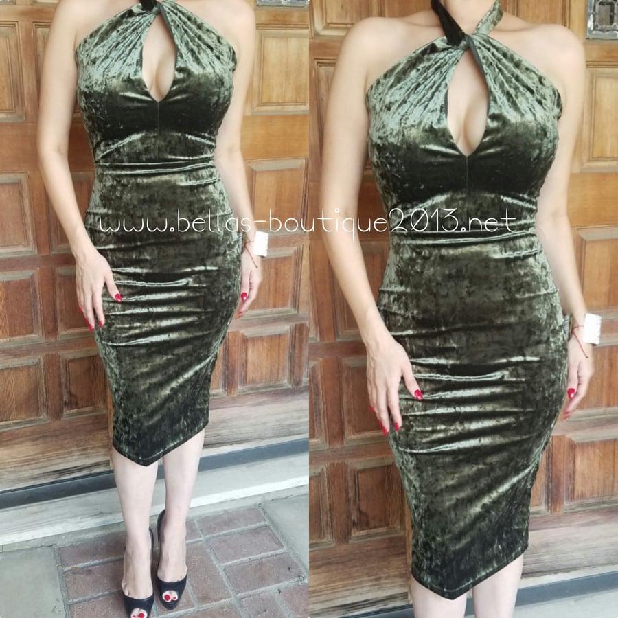 Image of Envy Olive Dress