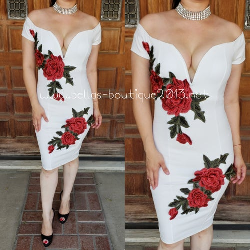 Image of Sexy Rose Dress