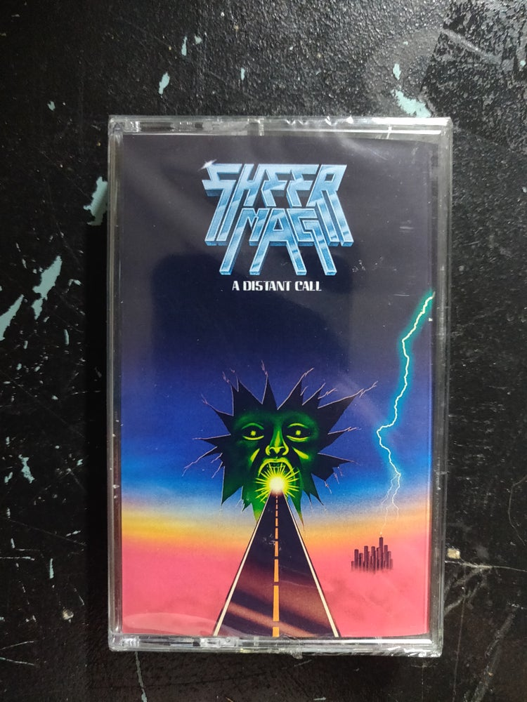 """Image of SHEER MAG """"A DISTANT CALL"""" CASSETTE"""