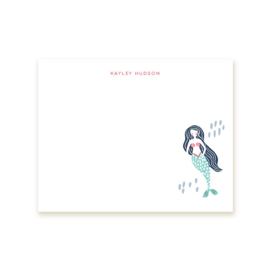 Image of Mermaid Notecards