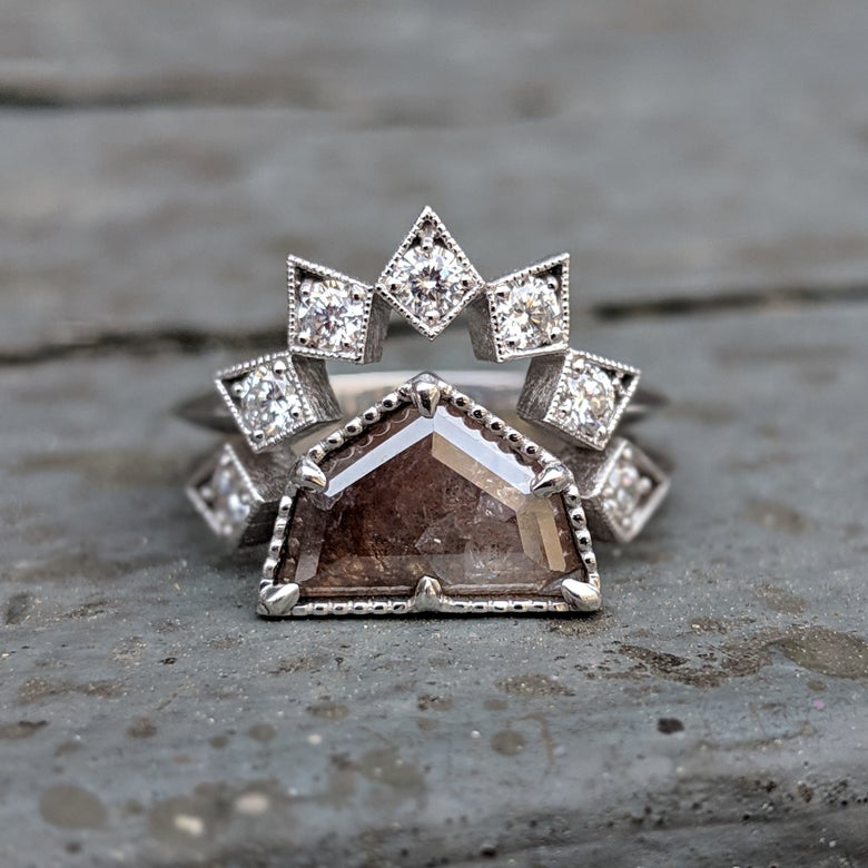 Image of Astrid and Star Ring Set