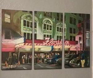 Image of LL0001 The Florida Theatre - Original Acrylic