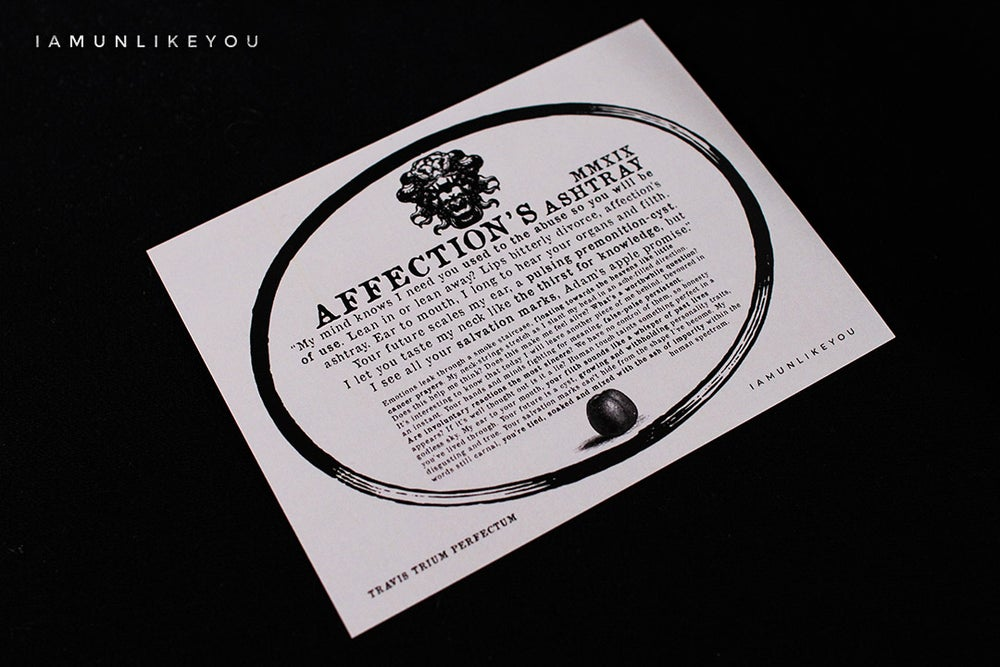 Image of Affection's Ashtray [Perfectum Edition - Limited to Nine]
