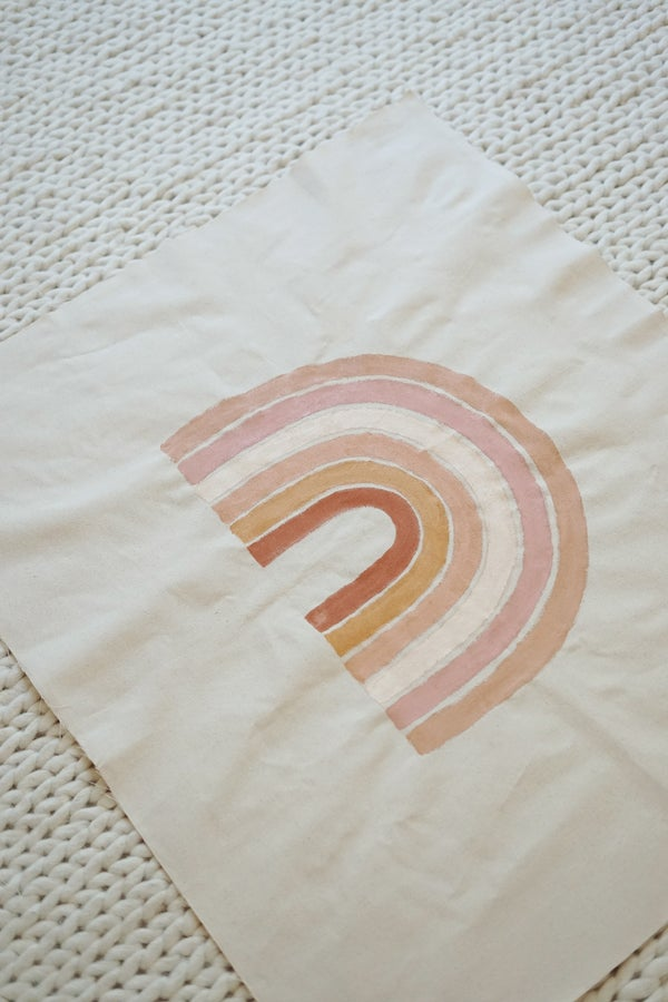 Image of rainbow tapestry