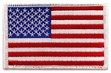 Image of USA Flag Patch