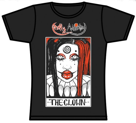 Image of Clown Ladies-fit Tee